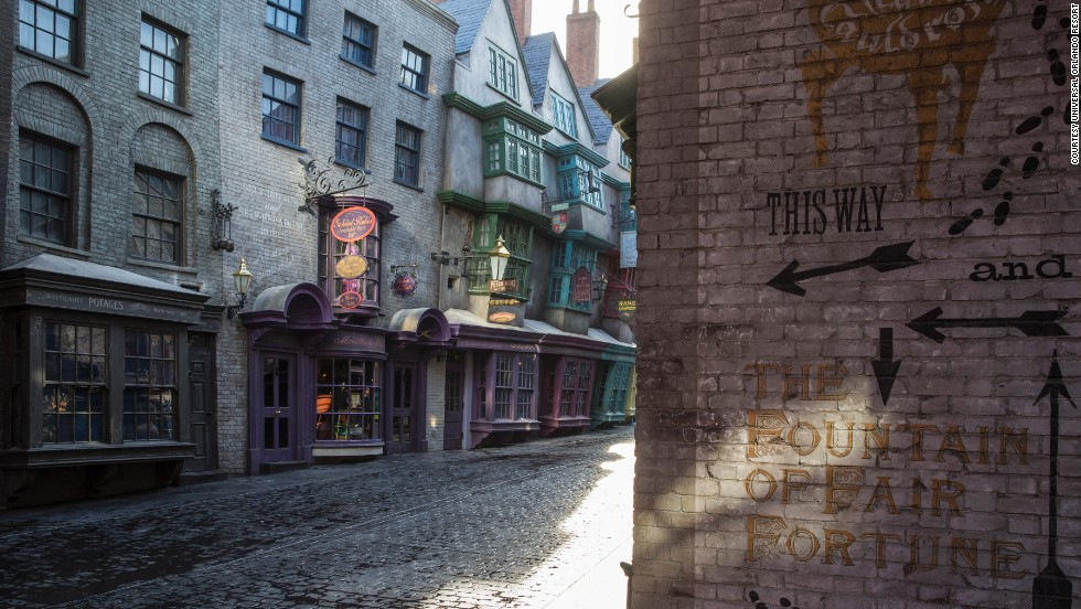 In July, Universal Studios Florida will open the Diagon Alley addition to the Wizarding World of Harry Potter.