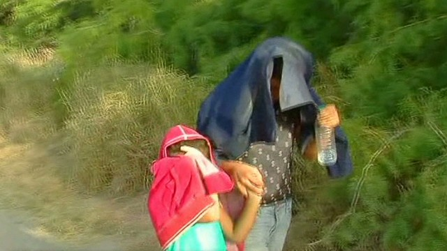 Child immigrants creating border crisis