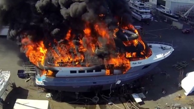 $17 million yacht goes up in flames_00003817.jpg