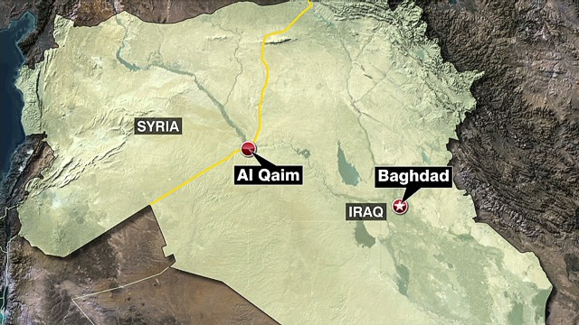 Four Iraqi towns fall to advancing ISIS