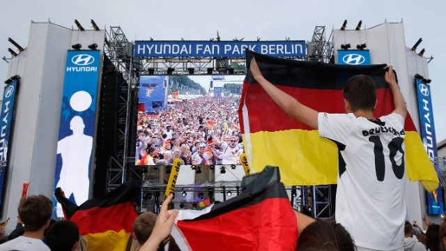 Over 26.4 million Germans enjoyed watching their team thrash Portugal on German network ARD's coverage of the game.