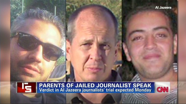 Parents of jailed journalist speak
