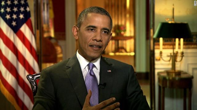President Barack Obama speaks to CNN's Kate Bolduan on Friday, June 20.