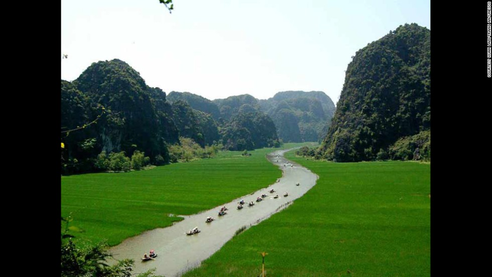 Vietnam's Trang An Scenic Landscape Complex is a mix of spectacular nature and human development. Naturalists can enjoy the peaks, cliffs and valleys, while some caves have evidence of human life dating back nearly 30,000 years. The site also includes Hoa Lu, the country's 10th- and 11th-century capital.