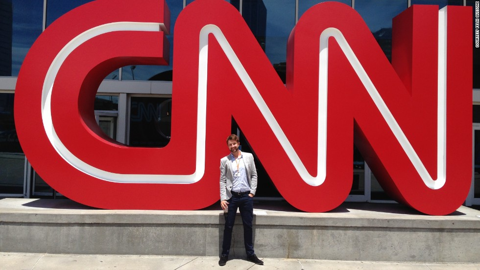 Gussone is currently a summer intern with the CNN Medical Unit. At 6-foot-4, he weighs around 187 pounds.