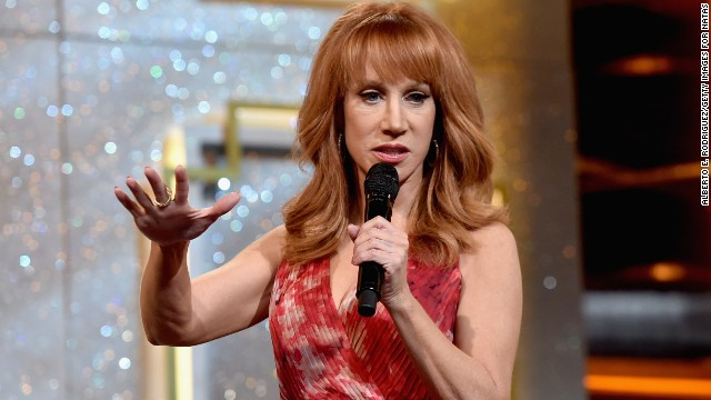 Host Kathy Griffin speaks onstage during the 41st Annual Daytime Emmy Awards on June 22, 2014.