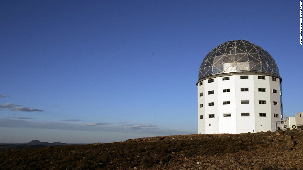 The Southern African Large Telescope allows stargazers to observe Sutherland's famously clear skies.