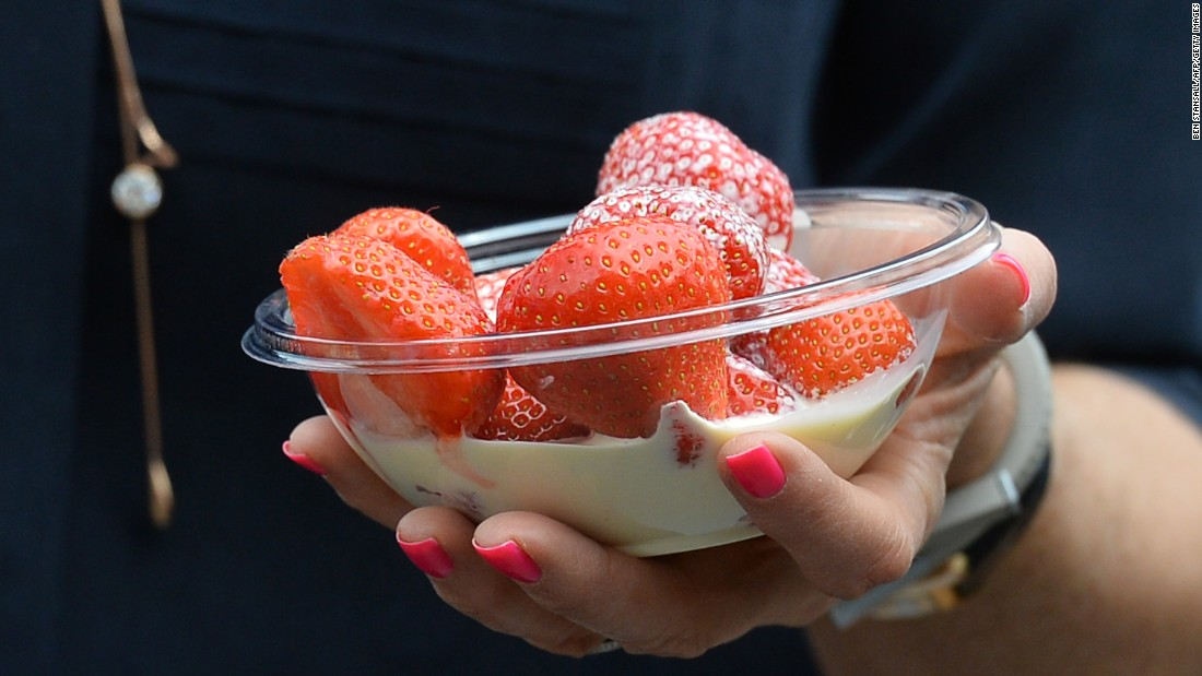 Wimbledon would not be Wimbledon without strawberries and cream. The tasty treat is at the center of this most traditional tennis tournament.