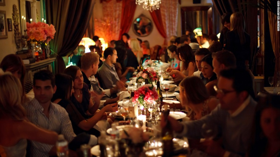 High-end dining, such as that offered by The Supper Club, has also evolved out of the pop-up idea.