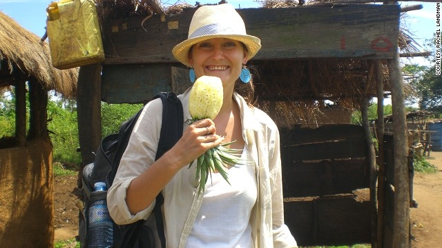 After a backpacking tour in Africa, Rachel Landman moved to Kampala, Uganda, to run Kombi Nation Tours.