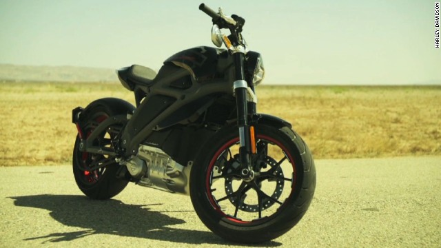 Image of Harley Davidson's New Electric Harley Motorcycle