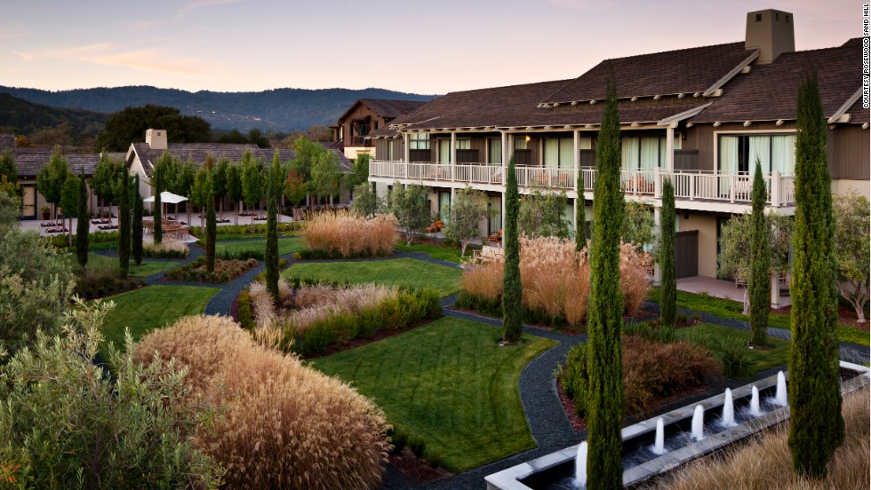 Rosewood Sand Hill in Menlo Park, California, caters to Silicon Valley movers and shakers. There are five spacious villas for extended-stay guests of 30 days or more (rates from $1,500 a night).