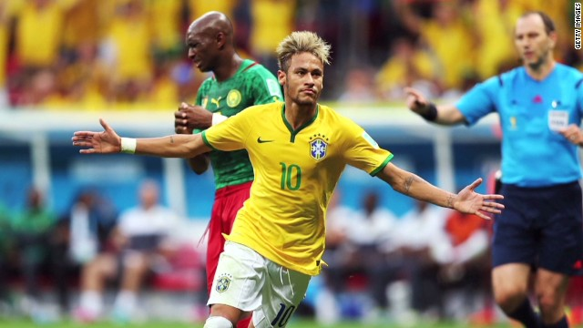 Juninho: Brazil too dependent on Neymar