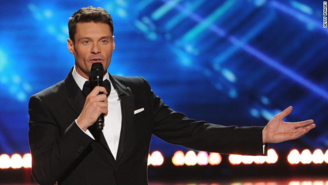 Ryan Seacrest at the 'American Idol' XIII finale on May 21, 2014