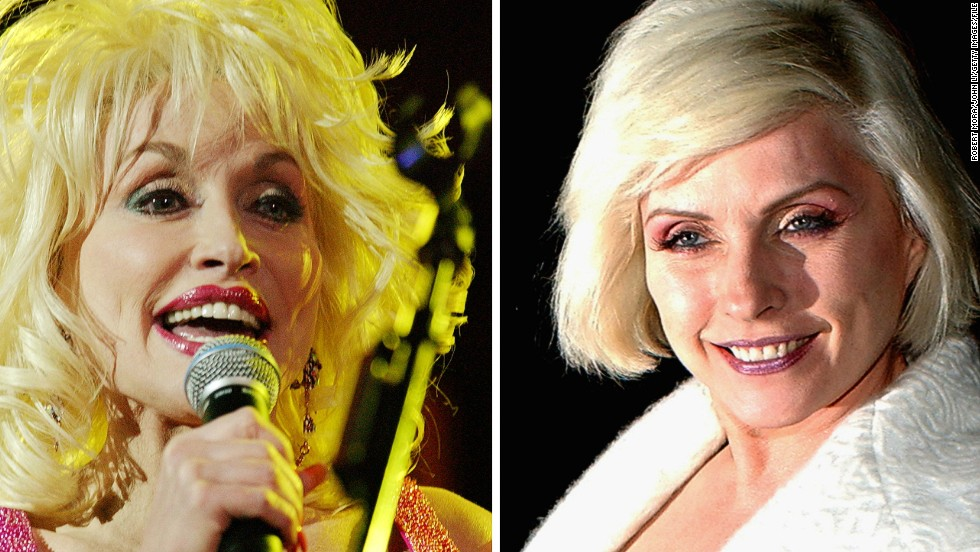 "Both are 68. Both are known for their trademark golden locks. And both are titans of the music world.<br /><br />But when Dolly Parton and Debbie Harry, of band ""Blondie,"" perform at one of the biggest music festivals on the planet -- Glastonbury -- they will be bringing very different styles to the stage.<br /><br />""They're both pioneers in their own way,"" said Dan Stubbs, news editor of British music magazine<a href=""http://www.nme.com/#"" target=""_blank""> NME</a>. ""Dolly's a self-made country and western legend, with a big, warm personality. Debbie Harry came from the New York punk scene of the 1970s, but found mainstream success by embracing disco, pop, and rap.""<br /><br />As both women take to the stage at the UK's premier arts festival, we look back at their remarkable careers.<br /><br />By <a href=""https://twitter.com/sheena_mckenzie"" target=""_blank""><strong>Sheena Mckenzie</strong></a>, for CNN<br />"