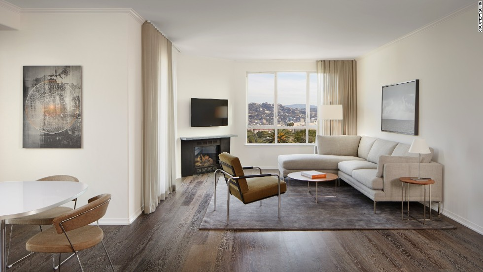 At AKA's sleek Beverly Hills, California, location, rates start from $345 a night with a weeklong minimum.