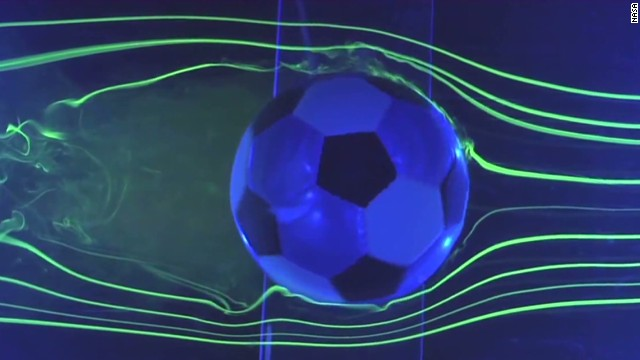 NASA tests World Cup match ball