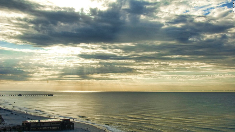 """Gulf Shores Public Beach in Alabama is one of the U.S. beaches that has consistently received high marks for water safety over the past five years, according to a Natural Resources Defense Council report. Alabama has three beaches on the council's """"superstar"""" list."""