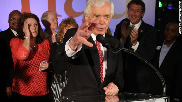 Senate veteran Thad Cochran wins primary