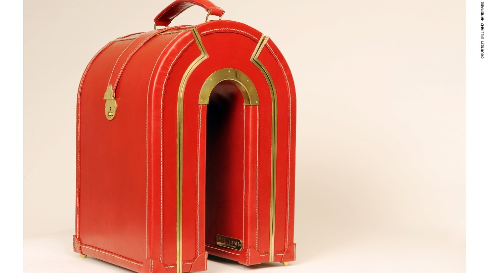 If you're an imaginative traveler with money to burn, Williams Handmade luggage is the easiest way to guarantee your bags stand out on the carousel.