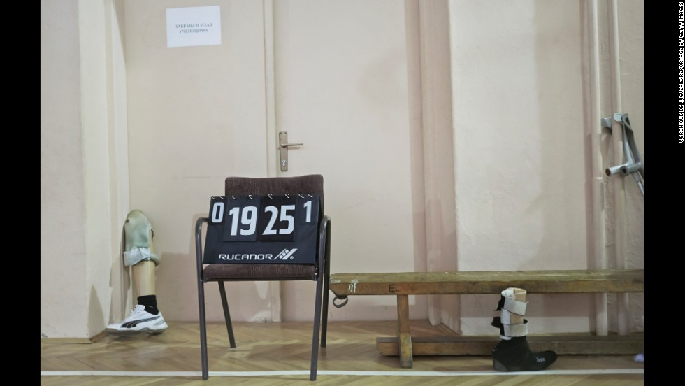 Veterans from both sides of the Bosnian War can be found at the Doboj Gym Hall in Zenica. The team sports are seen as an important part of the reconciliation process.