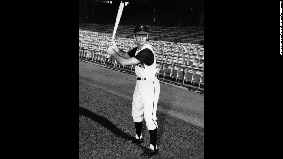 Baseball was big around the country as exciting young players, like Tony La Russa, joined lineups. La Russa, pictured here with the Kansas City A's in 1963, was inducted into the National Baseball Hall of Fame in Cooperstown, New York, in 2014.