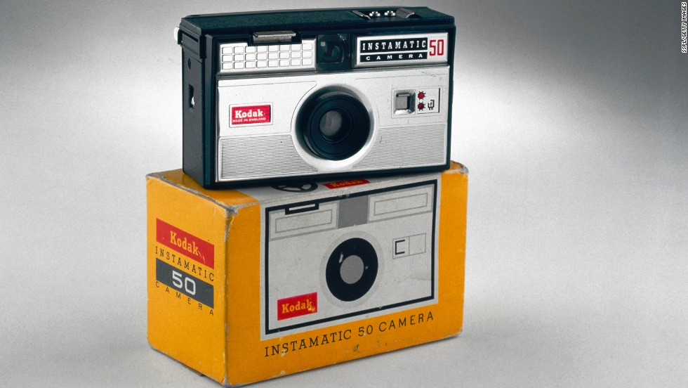 The Kodak Instamatic camera was released in 1963 and became an immediate success, thanks to its simple controls and lightweight design. With millions of Instamatics in circulation within a few years, there's no telling how many summer vacation photos these snappers shot.