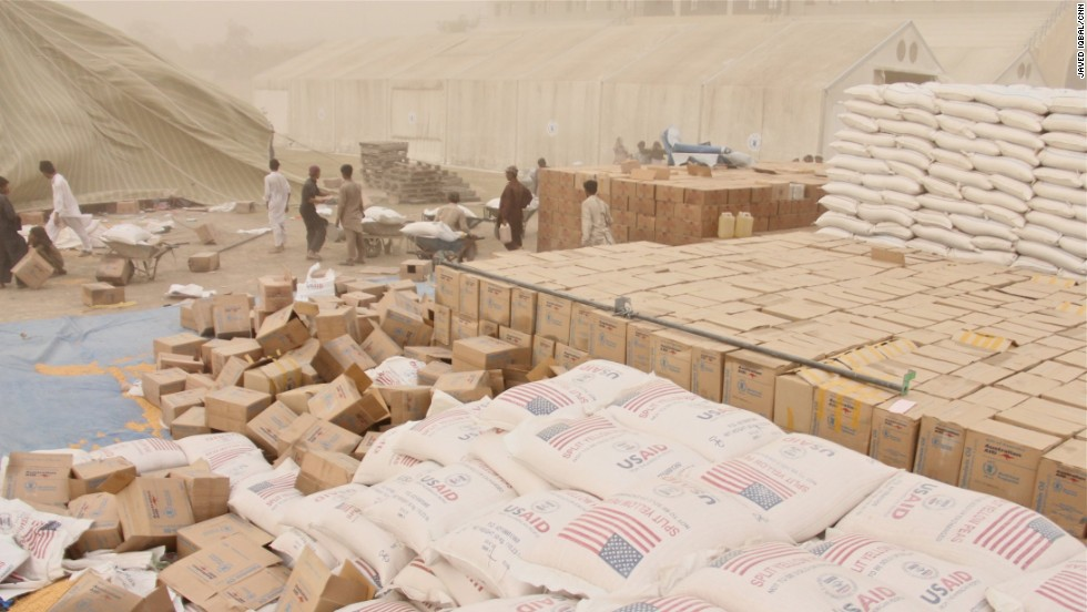 Because of the high demand, rations are being distributed on a biweekly basis instead of the usual monthly schedule.