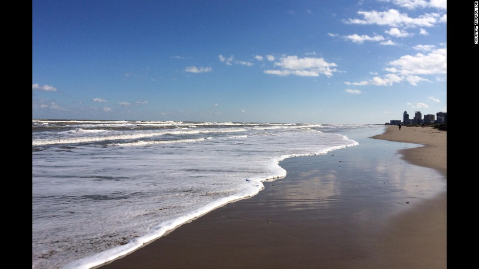 The casual coastal town of South Padre Island, Texas, has 34 miles of uninterrupted beaches, offering visitors adventures like water sports, fishing and many more.