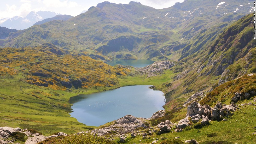 Designated a UNESCO Biosphere Reserve for its varied forests and wildlife, the Somiedo Natural Park is made up of four valleys in northern Spain's Cantabrian Mountains. The park is a haven for wildlife including brown bears, wolves, boars and golden eagles.