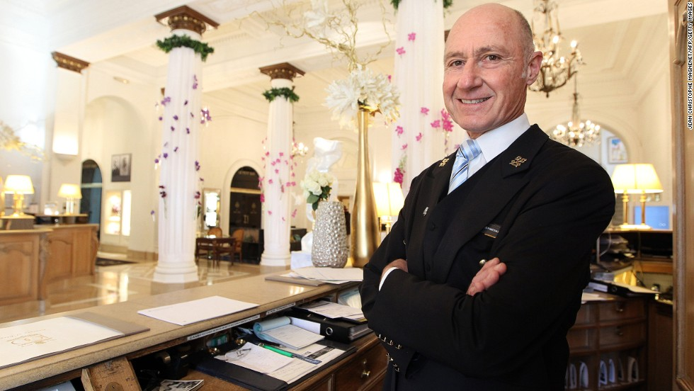 Always smiling, always genial, always ready to serve. The Internet will never replace the best concierges.