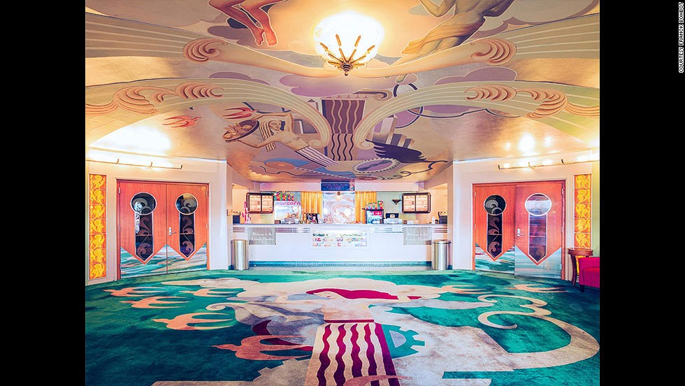 "<em>Lobby of Orinda Theatre, Orinda</em><br /><br />""I am an eternal nostalgic,"" says Bohbot ""and I wanted to in a way create a lasting memento to these places with so much history. """