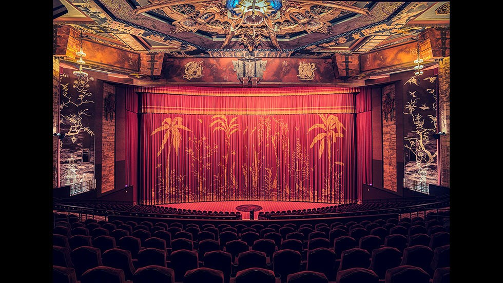 <em>TCL Chinese Theatre, Hollywood</em><br /><br />One of the cinemas on Bohbot's list was an icon of American popular culture -- the TCL Chinese Theater in Hollywood which played host to three Oscar ceremonies. Formerly known as the Grauman's Chinese Theatre, it first opened in 1927 with the premiere of Cecil B. DeMille's film The King of Kings. The historic auditorium was renovated in 2013 and converted into an IMAX screen, while still retaining its former spirit.