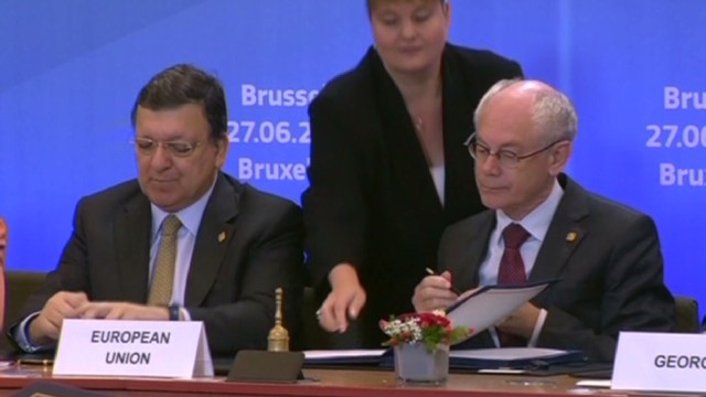 Ukraine-EU deal reduces Russia role