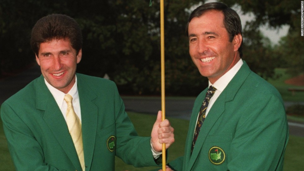 Ballesteros became the first European to win the Masters in 1980, going on to secure another green jacket in 1983. Compatriot and close friend Jose Maria Olazabal also claimed two wins at Augusta, in 1994 and 1999.