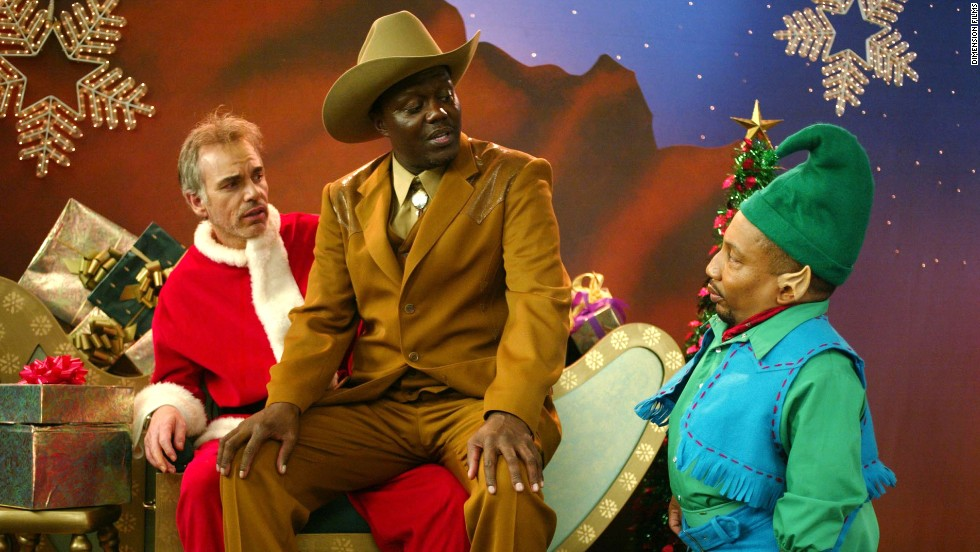 "<strong>""Bad Santa"" (2003) </strong>- Billy Bob Thornton, the late Bernie Mac, and Tony Cox appear in this movie about a crew that uses the good will of the holidays for their own means. (Netflix, Amazon)"