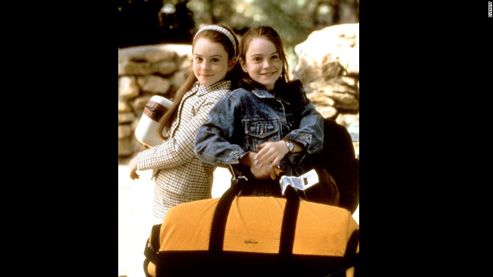 """<strong>The Parent Trap"" 1998</strong> - Relive the good old days of a precious child star, Lindsay Lohan, who plays a set of identical twins who meet at camp."