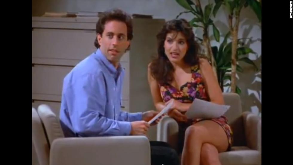 Mariska on Seinfeld - YouTube