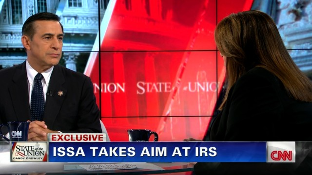 Darrell Issa takes aim at IRS