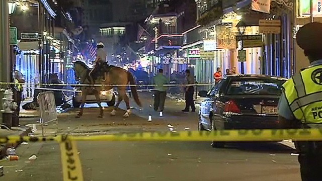 Gunfire injures several in New Orleans