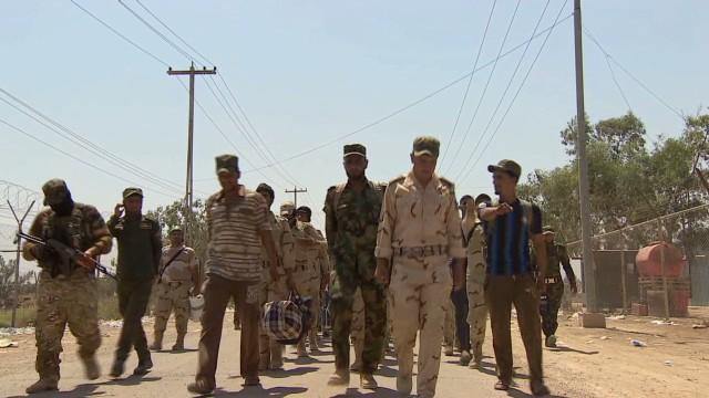 Iraqi volunteers ready to fight