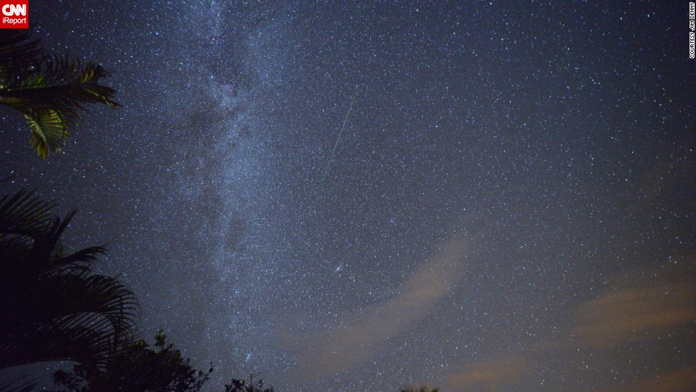 """Known for its clear night skies, Kekaha, Hawaii, was the perfect location for <a href=""""http://ireport.cnn.com/docs/DOC-1019000"""">Jim Denny</a> to photograph the Perseid meteor shower passing over the Earth in August 2013. Click through the gallery to see more beautiful summer scenes."""