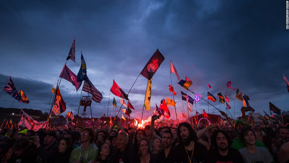 "Every year for one weekend in June, a little city with a party-loving populace of 200,000 pops-up on a dairy farm in Somerset, south-west England. <br /><br />Welcome to Glastonbury Festival, which this this weekend included performances from the likes of Dolly Parton, Metallica, and Lana Del Ray - among a cosmos of stars scattered across 100 stages. <br /><br />But almost as much as the music, Glastonbury is known for the rampant swells of mud churned up as rain meets the stomp of wellies. It can make for an alarming spectacle but, increasingly, Britain's seasoned festival-goers have become masters of making the most of a mucky situation. Here's how. <br /><em><br />Original photos by <em></em><a href=""http://www.eighteenthirtynine.com/"" target=""_blank"">Robert Logan.</em></a><em> Words by </em><em><a href=""https://twitter.com/George_Web"" target=""_blank"">George Webster</em></a><br />"