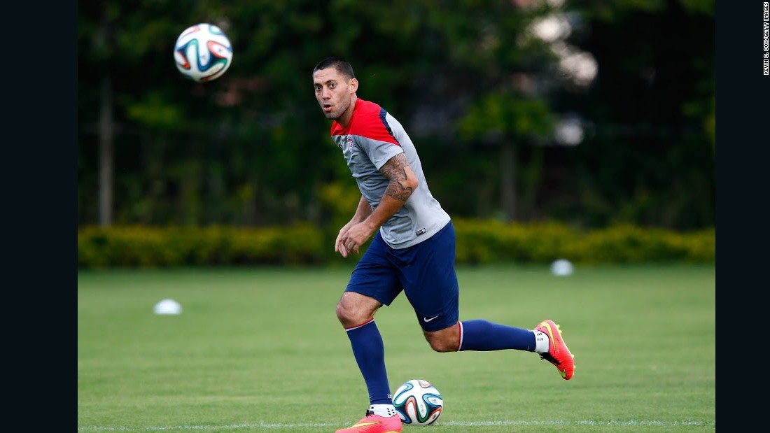 Clint Dempsey World Cup Training