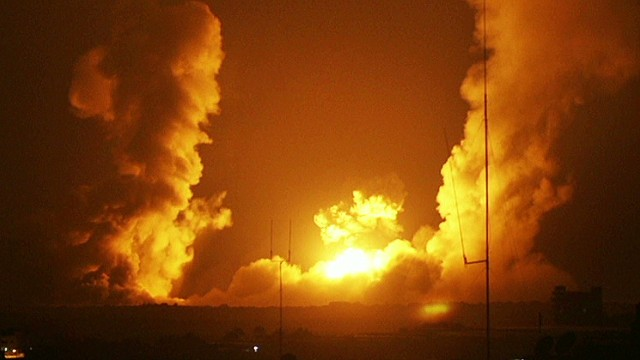 Israeli military strikes Hamas targets
