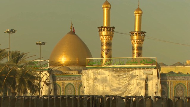 Saving the shrines of Karbala