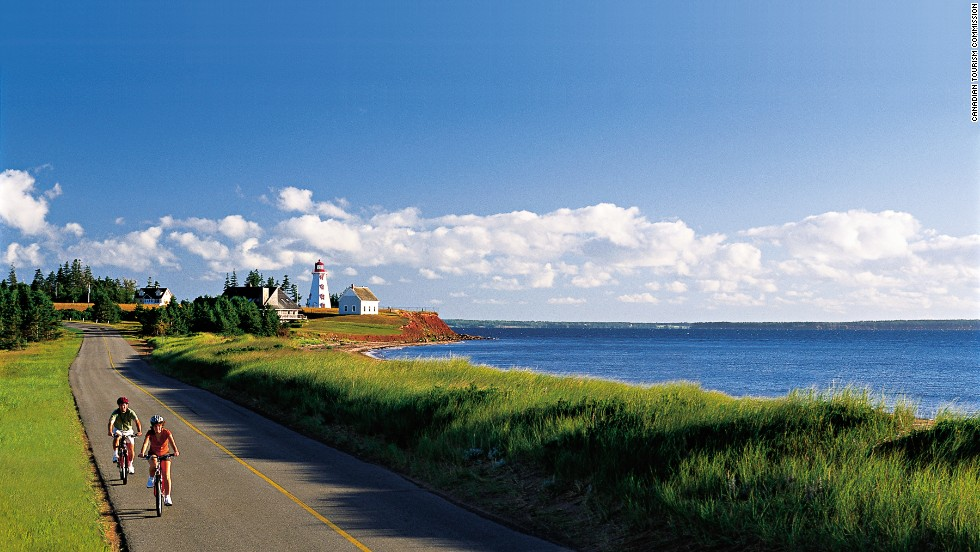 "Canada's smallest province, Prince Edward Island gained global fame in the years following publication of Lucy Maud Montgomery's 1908 novel ""Anne of Green Gables."" More than 100 years later, PEI remains as glorious as ever, filled with beautiful beaches, fresh seafood, historic architecture and those rocky red cliffs made famous by ""Anne."" <a href=""http://www.tourismpei.com/index.php3"" target=""_blank""><em><br />More info: Tourismpei.com</a></em>"