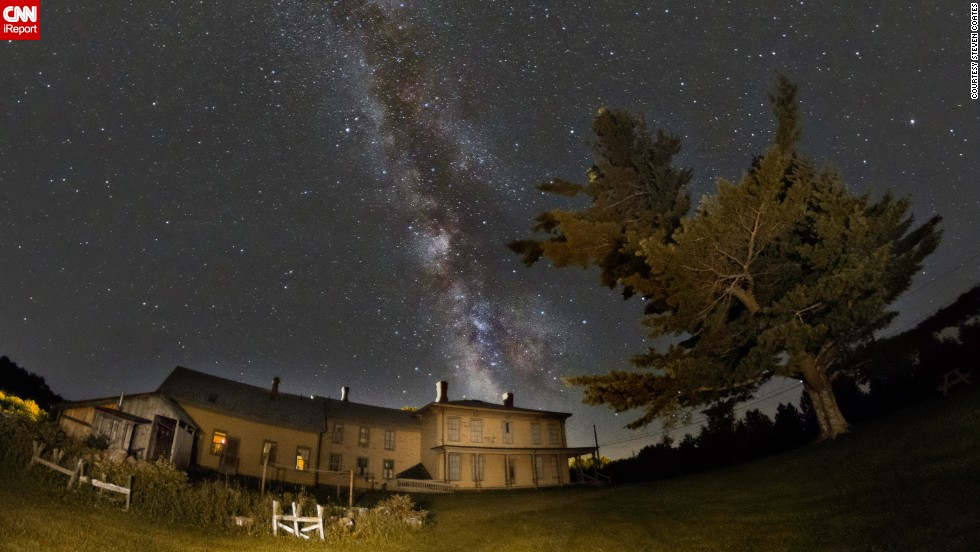"There's no better place to contemplate the vastness of space than under the Milky Way on a warm summer night. Astrophotographer <a href=""http://ireport.cnn.com/docs/DOC-1139688"">Steven Coates</a> shot this photo in Canton, Maine, in August 2013."