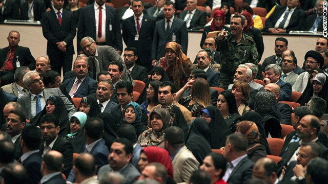 Iraqis upset with parliamentary inaction