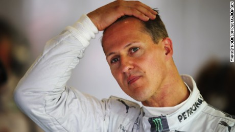 Michael Schumacher won a record seven Formula One world titles between 1994 and 2004.